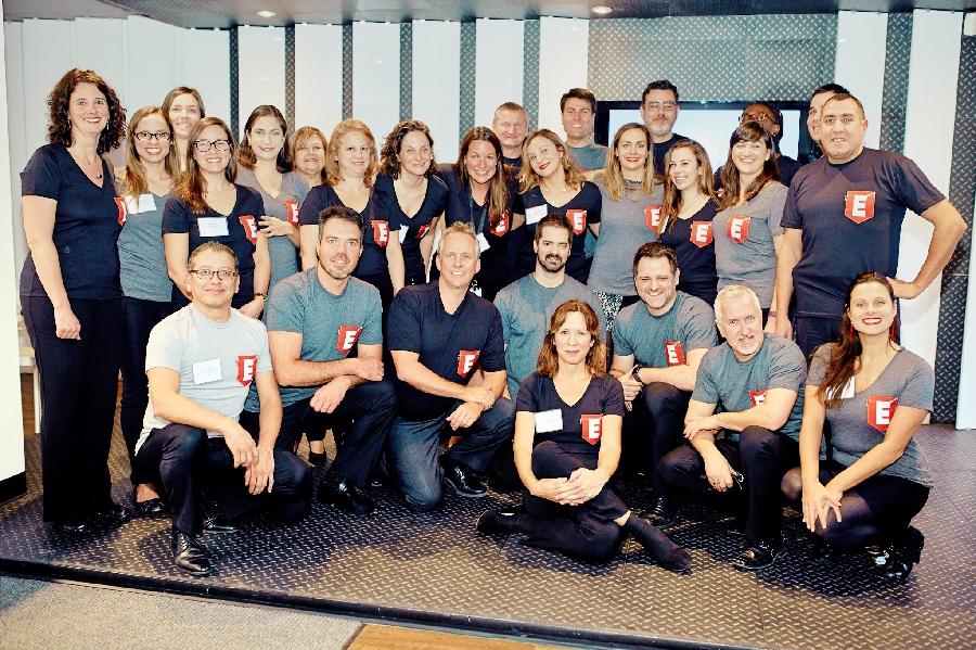 Équipe de l'école des entrepreneurs Mtl